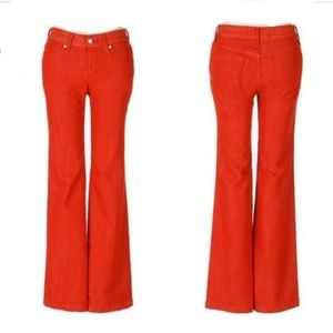 Paperdenim & cloth Jayne Med. Rise Wide Leg Jeans